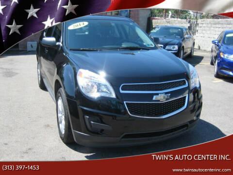 2014 Chevrolet Equinox for sale at Twin's Auto Center Inc. in Detroit MI