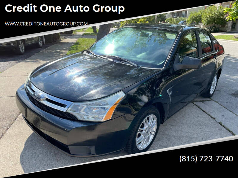 2008 Ford Focus for sale at Credit One Auto Group in Joliet IL