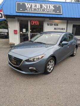 2015 Mazda MAZDA3 for sale at WEB NIK Motors in Fitchburg MA