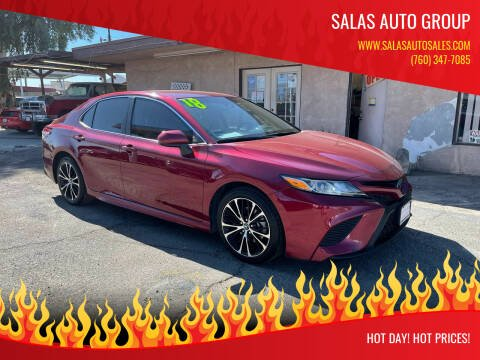 2018 Toyota Camry for sale at Salas Auto Group in Indio CA
