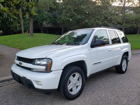 2002 Chevrolet TrailBlazer for sale at Houston Auto Preowned in Houston TX