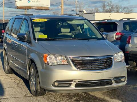 2012 Chrysler Town and Country for sale at MetroWest Auto Sales in Worcester MA