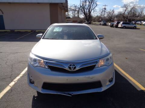 2013 Toyota Camry for sale at AUTO PRO in Oklahoma City OK