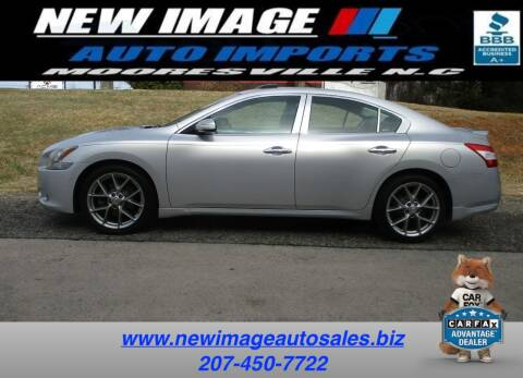 2010 Nissan Maxima for sale at New Image Auto Imports Inc in Mooresville NC