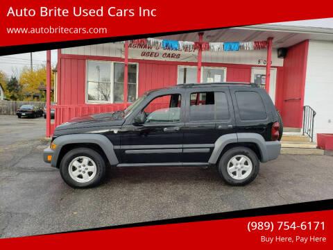 2005 Jeep Liberty for sale at Auto Brite Used Cars Inc in Saginaw MI