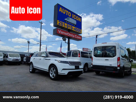 2018 Land Rover Range Rover Velar for sale at Auto Icon in Houston TX