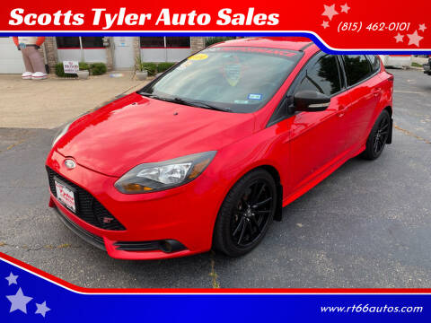 2014 Ford Focus for sale at Scotts Tyler Auto Sales in Wilmington IL