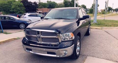 2017 RAM Ram Pickup 1500 for sale at One Price Auto in Mount Clemens MI