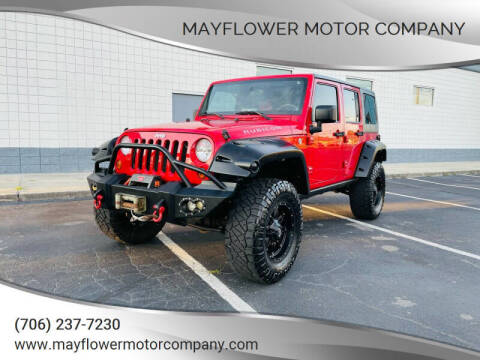 2009 Jeep Wrangler Unlimited for sale at Mayflower Motor Company in Rome GA