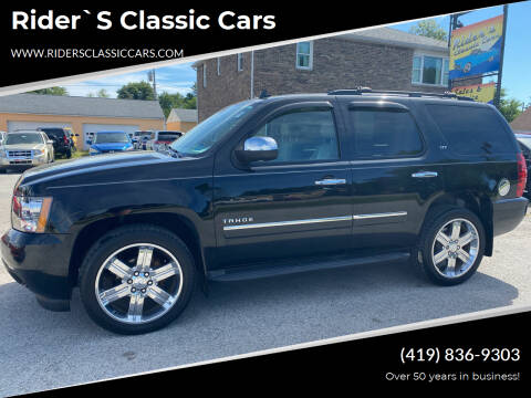 2010 Chevrolet Tahoe for sale at Rider`s Classic Cars in Millbury OH