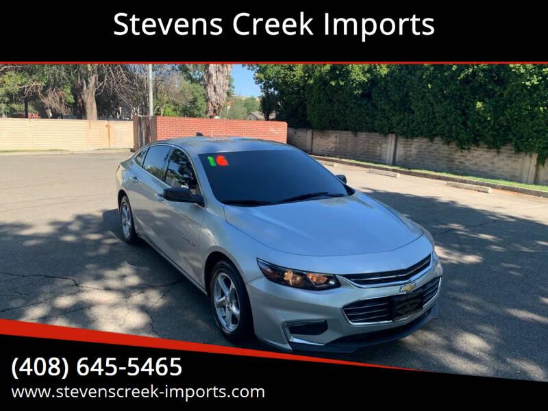 2016 Chevrolet Malibu for sale at Stevens Creek Imports in San Jose CA