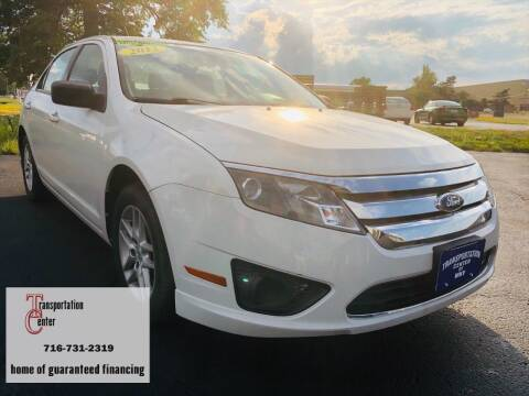 2012 Ford Fusion for sale at Transportation Center Of Western New York in Niagara Falls NY