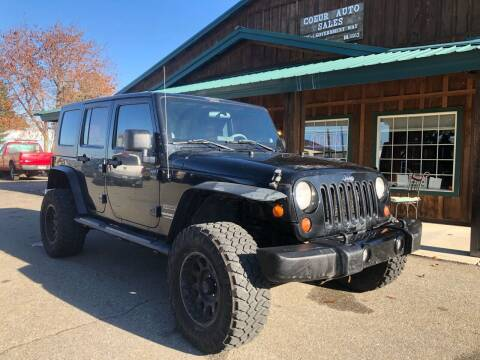 2010 Jeep Wrangler Unlimited for sale at Coeur Auto Sales in Hayden ID