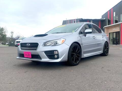 2017 Subaru WRX for sale at Snyder Motors Inc in Bozeman MT