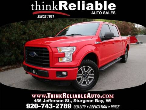 2016 Ford F-150 for sale at RELIABLE AUTOMOBILE SALES, INC in Sturgeon Bay WI