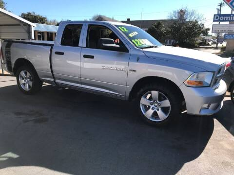 2012 RAM Ram Pickup 1500 for sale at Cherry Motors in Greenville SC