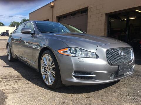 2011 Jaguar XJL for sale at Martys Auto Sales in Decatur IL