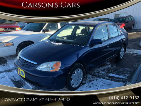 2003 Honda Civic for sale at Carson's Cars in Milwaukee WI