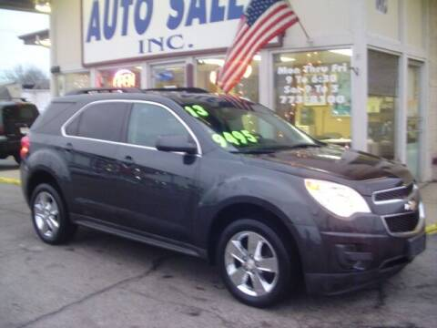 2013 Chevrolet Equinox for sale at G & L Auto Sales Inc in Roseville MI