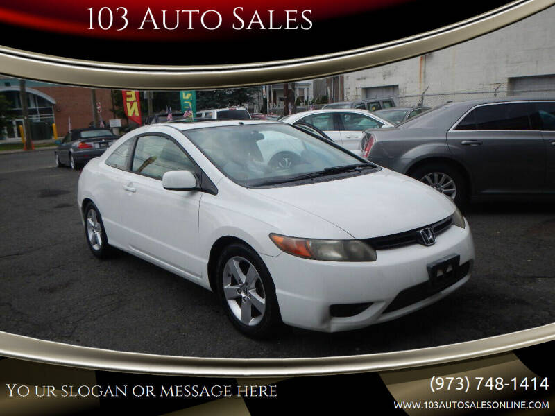 2007 Honda Civic for sale at 103 Auto Sales in Bloomfield NJ