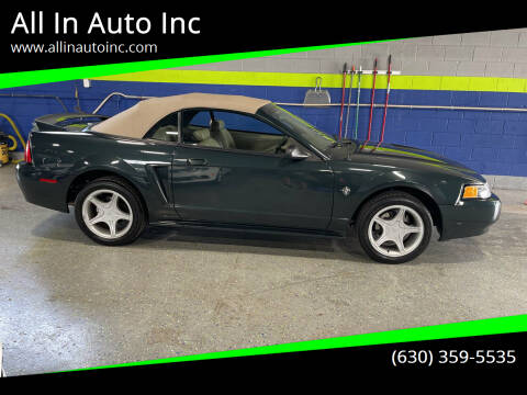1999 Ford Mustang for sale at All In Auto Inc in Addison IL