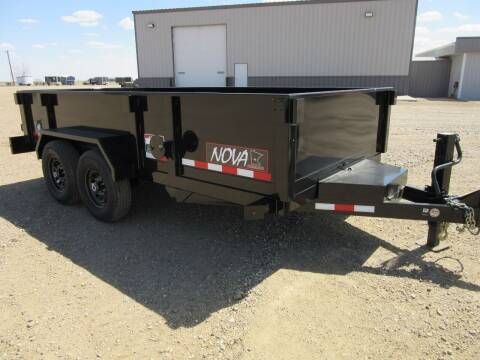 "2021 Midsota MIDSOTA 82"" X14' DUMP TRAILER for sale at Nore's Auto & Trailer Sales - Dump Trailers in Kenmare ND"