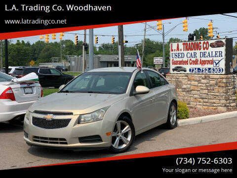 2012 Chevrolet Cruze for sale at L.A. Trading Co. Woodhaven in Woodhaven MI