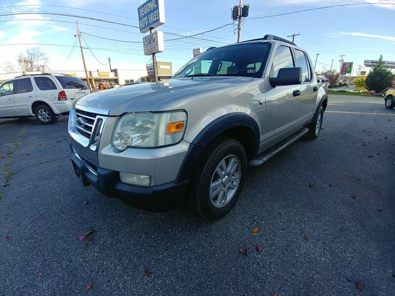 2008 Ford Explorer Sport Trac for sale at Regional Auto Sales in Madison Heights VA