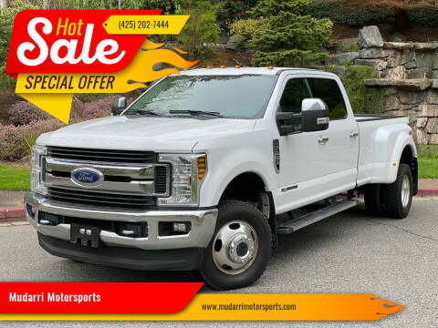 2019 Ford F-350 Super Duty for sale at Mudarri Motorsports in Kirkland WA