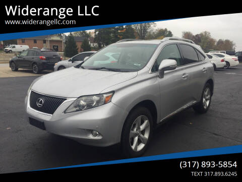 2010 Lexus RX 350 for sale at Widerange LLC in Greenwood IN