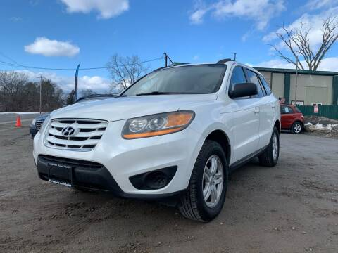 2010 Hyundai Santa Fe for sale at E's Wheels Auto Sales in Hudson Falls NY