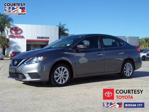 2019 Nissan Sentra for sale at Courtesy Toyota & Ford in Morgan City LA