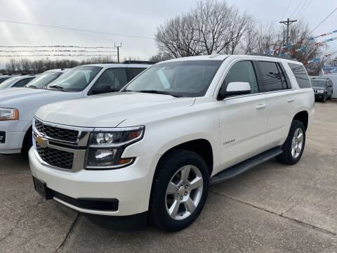 2015 Chevrolet Tahoe for sale at Greg's Auto Sales in Poplar Bluff MO