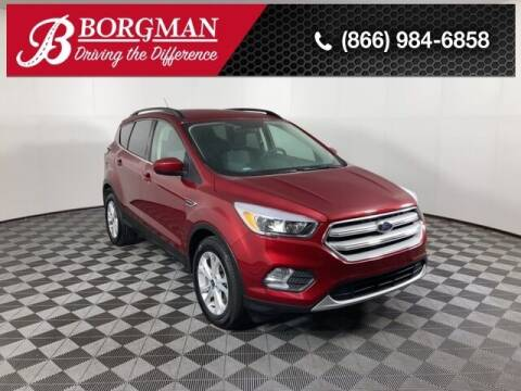 2018 Ford Escape for sale at BORGMAN OF HOLLAND LLC in Holland MI
