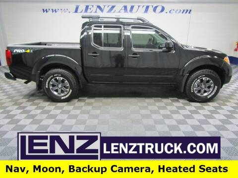 2021 Nissan Frontier for sale at LENZ TRUCK CENTER in Fond Du Lac WI