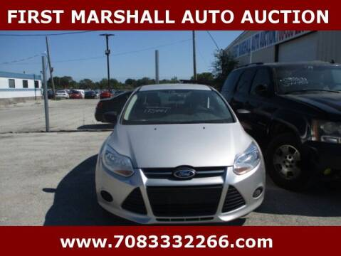2013 Ford Focus for sale at First Marshall Auto Auction in Harvey IL