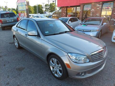 2008 Mercedes-Benz C-Class for sale at HW Auto Wholesale in Norfolk VA