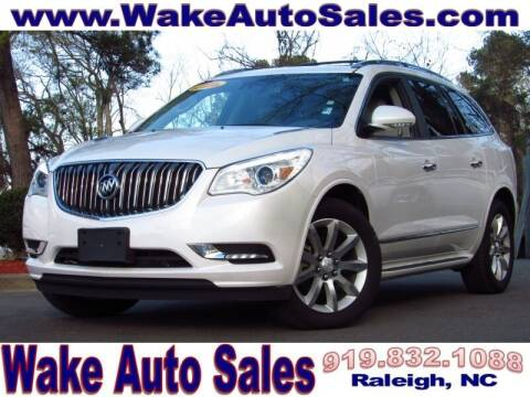 2016 Buick Enclave for sale at Wake Auto Sales Inc in Raleigh NC