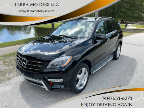 2014 Mercedes-Benz M-Class for sale at Terra Motors LLC in Jacksonville FL