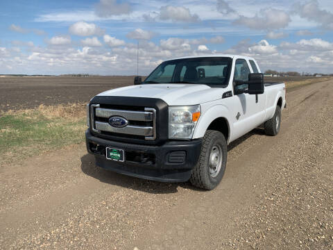 2011 Ford F-250 Super Duty for sale at HALVORSON AUTO in Cooperstown ND