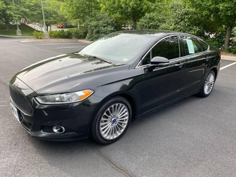 2014 Ford Fusion for sale at Car World Inc in Arlington VA