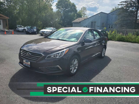 2015 Hyundai Sonata for sale at Excellent Autos in Amsterdam NY