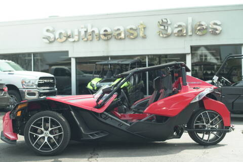 2016 Polaris Slingshot SL Red Pearl for sale at Southeast Sales Powersports in Milwaukee WI