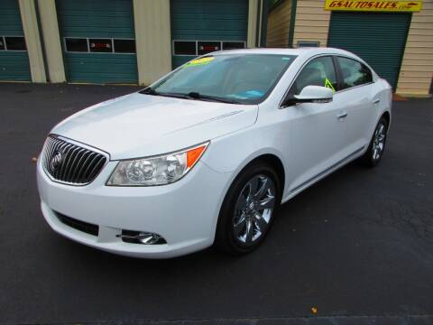 2013 Buick LaCrosse for sale at G and S Auto Sales in Ardmore TN