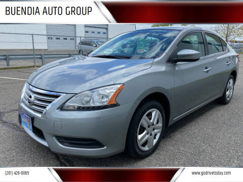 2014 Nissan Sentra for sale at BUENDIA AUTO GROUP in Hasbrouck Heights NJ