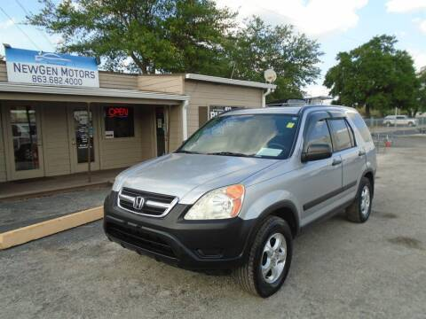 2003 Honda CR-V for sale at New Gen Motors in Lakeland FL