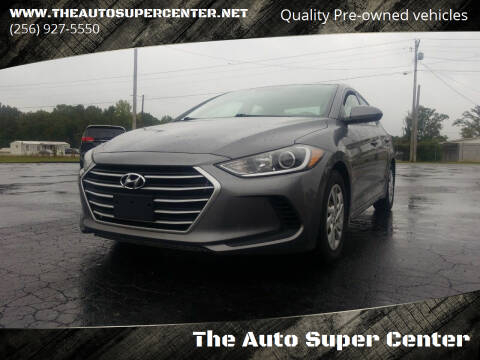 2018 Hyundai Elantra for sale at The Auto Super Center in Centre AL