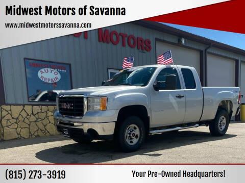 2010 GMC Sierra 2500HD for sale at Midwest Motors of Savanna in Savanna IL
