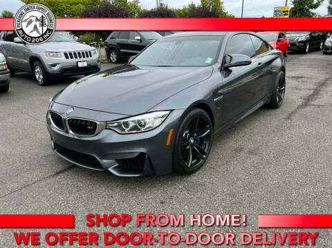 2015 BMW M4 for sale at Auto 206, Inc. in Kent WA