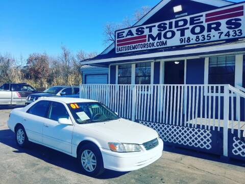 2001 Toyota Camry for sale at EASTSIDE MOTORS in Tulsa OK